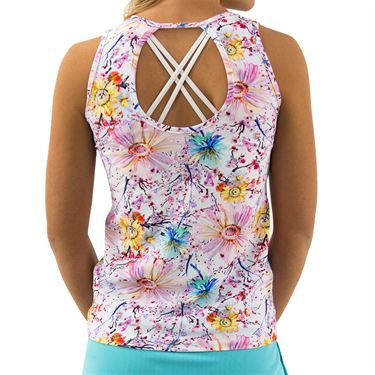 BPassionit Coming Up Daisies Cut Out Tank Womens Daisies Print 800821 DAP