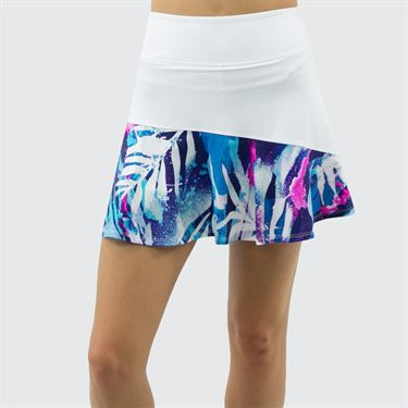 Tonic Flora Skirt - White/Tropical Summer