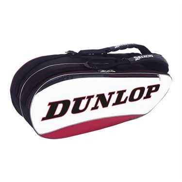 Dunlop Srixon 8 Pack Tennis Bag - Red