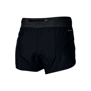 Nike Girls Dry Running Short - Black