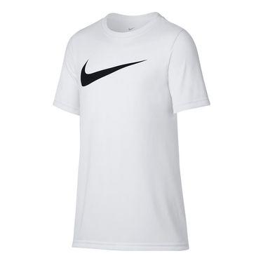Nike Boys Dry Training Crew - White