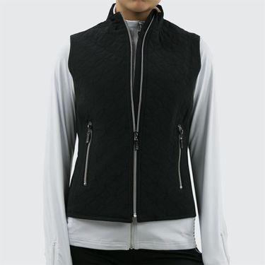 Bolle Melange Full Zip Vest - Black