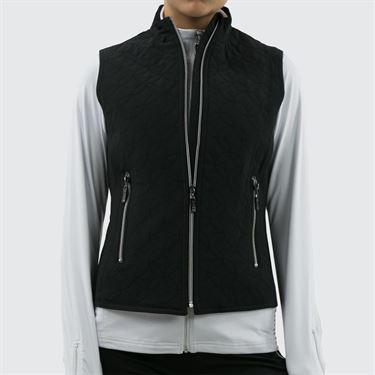 Bolle Melange Full Zip Vest - Black