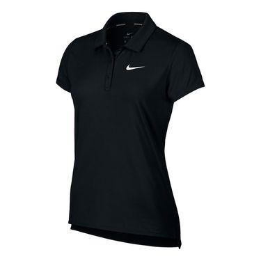Nike Court Polo - Black/White
