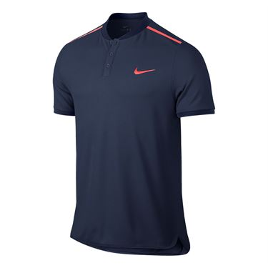 Nike Advantage Solid Pique Polo - Midnight Navy
