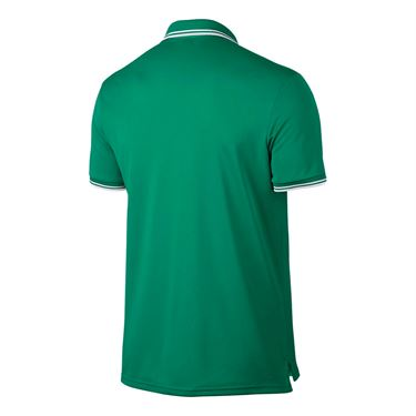 Nike Court Dry Solid Polo - Lucid Green