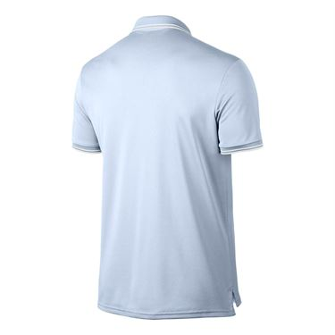 Nike Court Dry Solid Polo - Half Blue
