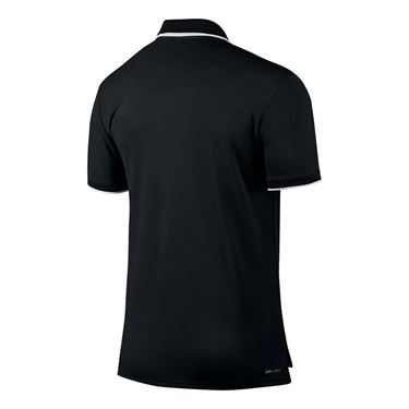 Nike Court Dry Team Polo - Black/White