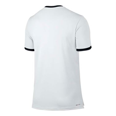 Nike Court Dry Team Crew - White