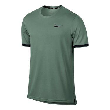 Nike Court Dry Team Crew - Clay Green/Black