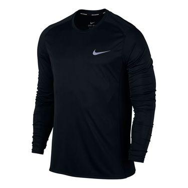 Nike Miler Long Sleeve Crew - Black