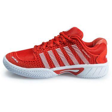 K Swiss Hypercourt Express Junior Tennis Shoe - Fiesta/White 83377 812 M