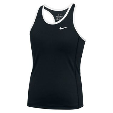 Nike Dry Tank Womens Black/White 835962 012