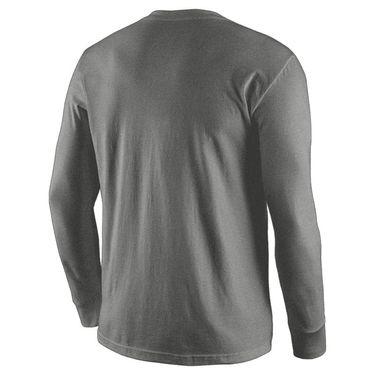 Nike Legend Boys Long Sleeve Training Shirt Carbon Heather/Black 840177 091