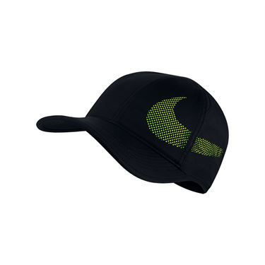 Nike Feather Light Perforated Hat - Black
