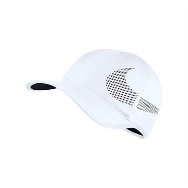 Nike Feather Light Perforated Hat - White