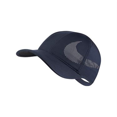 Nike Feather Light Perforated Hat - Obsidian