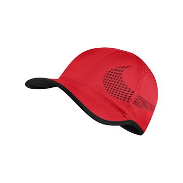 Nike Feather Light Perforated Hat - Action Red