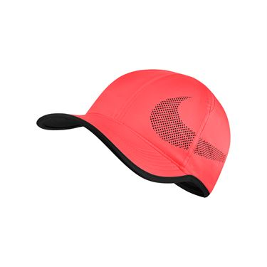 Nike Feather Light Perforated Hat - Hot Punch