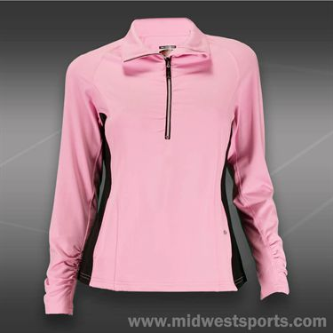 Bolle Mona Lisa 1/2 Zip Top-Neon Pink