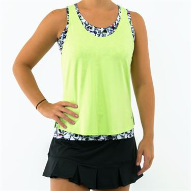 Bolle Pop Art Layered Tank - Mojito