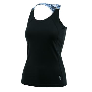 Bolle High Resolution Racerback Tank - Black
