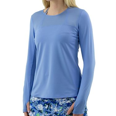 Bolle Serenity Long Sleeve Top Womens Periwinkle 8412 4332û