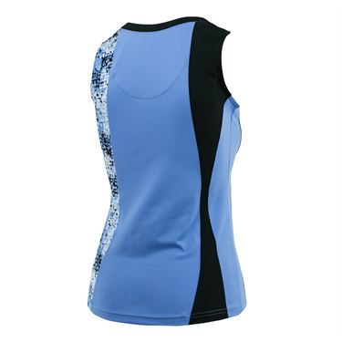 Bolle High Resolution V Neck Tank - Periwinkle