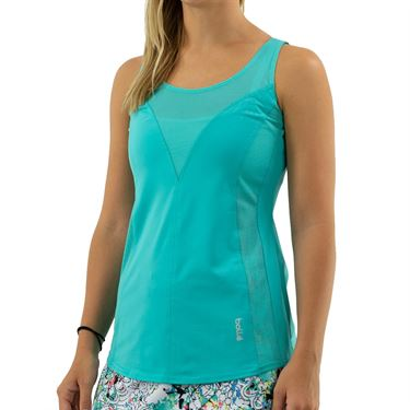 Bolle Magnolia Scoop Neck Tank Womens Sea Breeze 8421 30 926