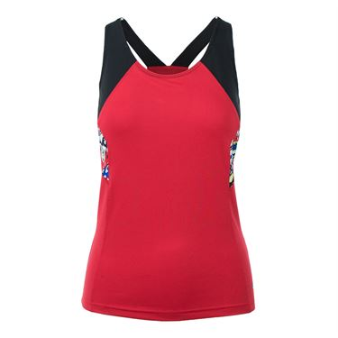 Bolle Graffiti Racerback Tank - Bolle Red