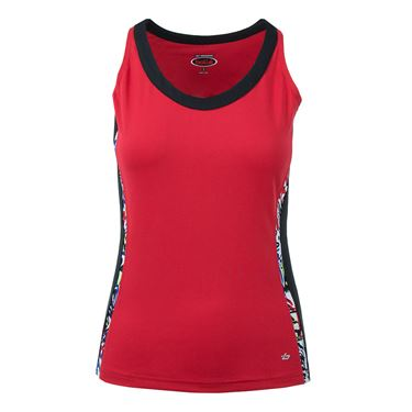 Bolle Graffiti Keyhole Back Tank - Bolle Red