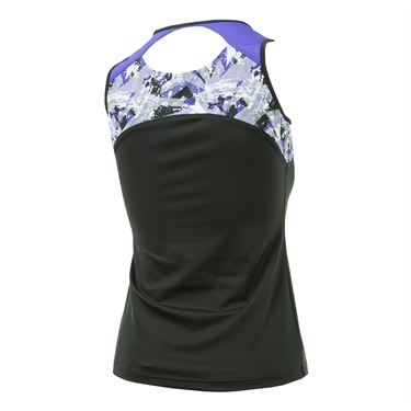Bolle Purple Passion Keyhole Tank - Black