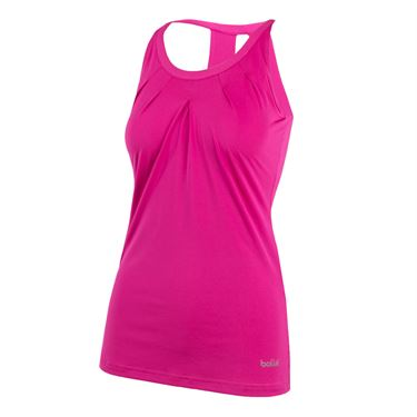 Bolle Color Burst Side Tie Tank - Fuchsia