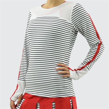 Bolle City Chic Long Sleeve Top - White