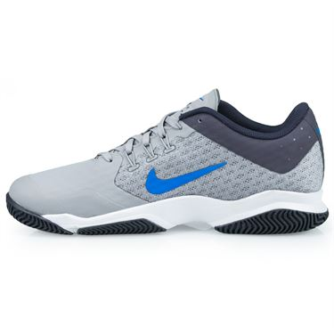 Nike Air Zoom Ultra Mens Tennis Shoe - Atmosphere Grey/Photo Blue/White