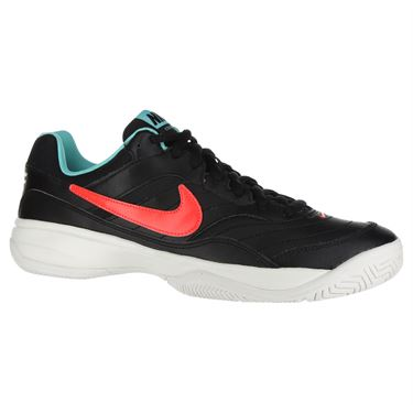 Nike Court Lite Mens Tennis Shoe - Black/White/Bright Crimson