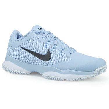 Nike Air Zoom Ultra Womens Tennis Shoe - Hydrogen Blue/Metallic Dark Grey/White