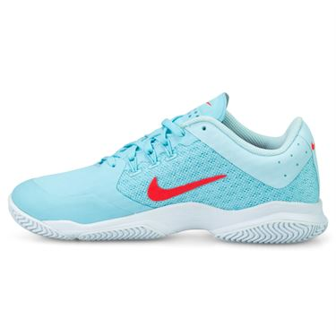 Nike Air Zoom Ultra Womens Tennis Shoe - Still Blue/Crimson/White