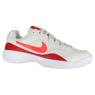 Nike Court Lite Womens Tennis Shoe - Phantom/Bright Crimson/University Red
