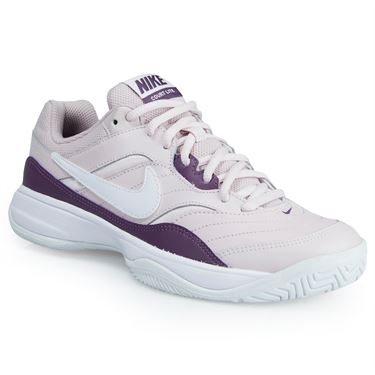 Nike Court Lite Womens Tennis Shoe - Barely Rose/Purple/White