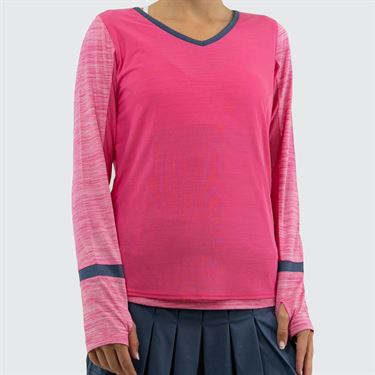 Bolle Pink Haze Long Sleeve Top Womens Pink Passion 8462 28 7317