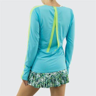 Bolle Tropical Twist Long Sleeve Top - Aqua