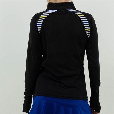 Bolle News Flash 1/4 Zip Long Sleeve Top Womens Black 8475 28 1000