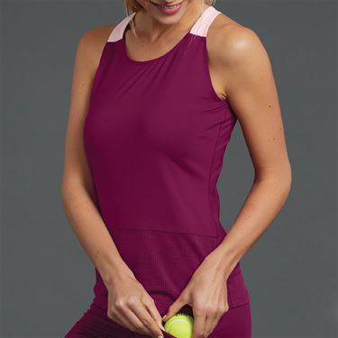 Bolle A Cut Above Strappy Tank Womens Plum 8476 28 3086