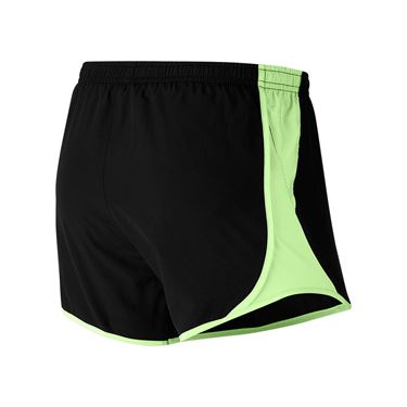 Nike Dri FIT Shorts Womens Black/Barely Volt/Wolf Grey 849394 065