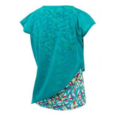 Bolle Kaleidoscope Layered Tank - Sea Glass