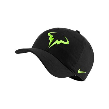 Nike Rafa Hat - Black/Volt