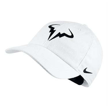 Nike H86 Rafa Hat - White/Black