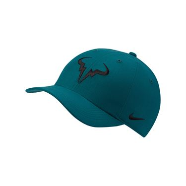 Nike Rafa Hat - Dark Atomic Teal/White