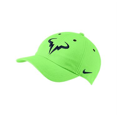 Nike Rafa Hat - Lime Glow/White